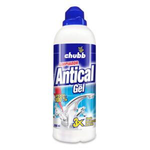 antical gel limpiador chubb