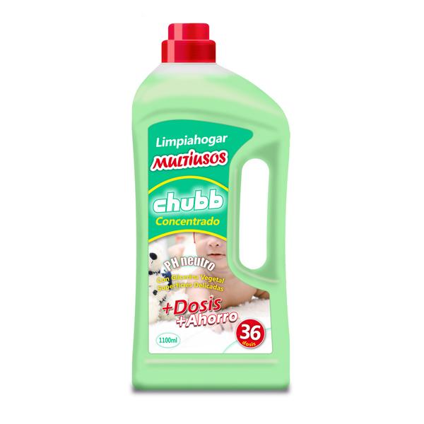 multiusos ph neutro limpiahogar concentrado chubb